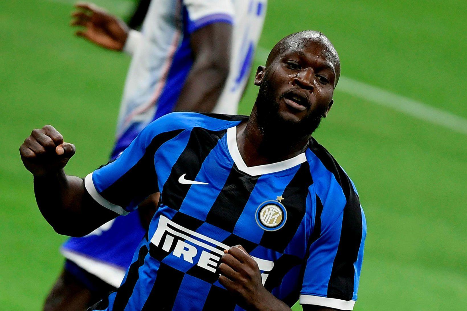 Romelu Lukaku, sóknarmaður Inter, er meðal þeirra sem hafa vakið …