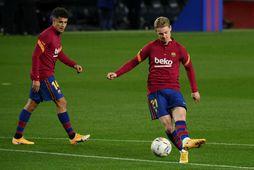 Barcelona á ennþá eftir að borga háar fjárhæðir fyrir þá Philippe Coutinho og Frenkie de …