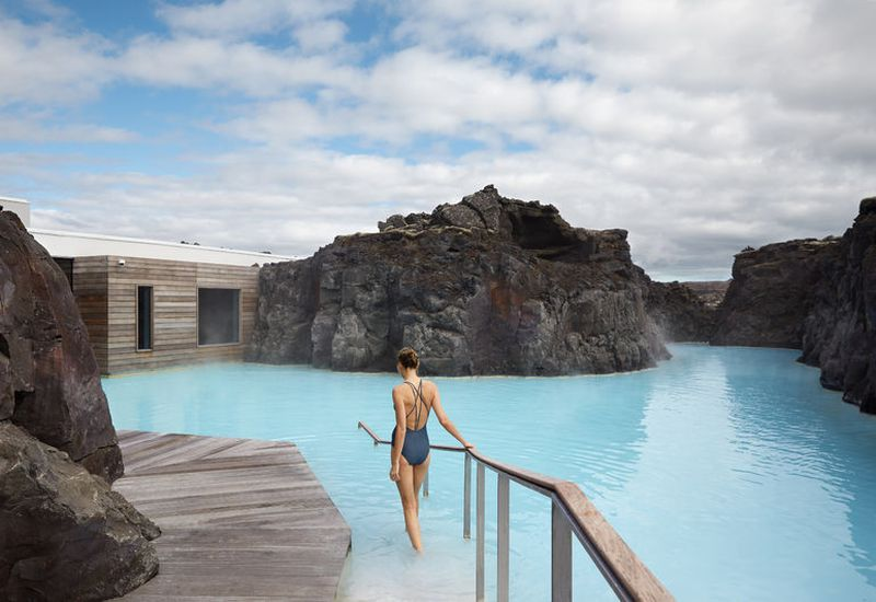 From the Retreat at Blue Lagoon Iceland.
