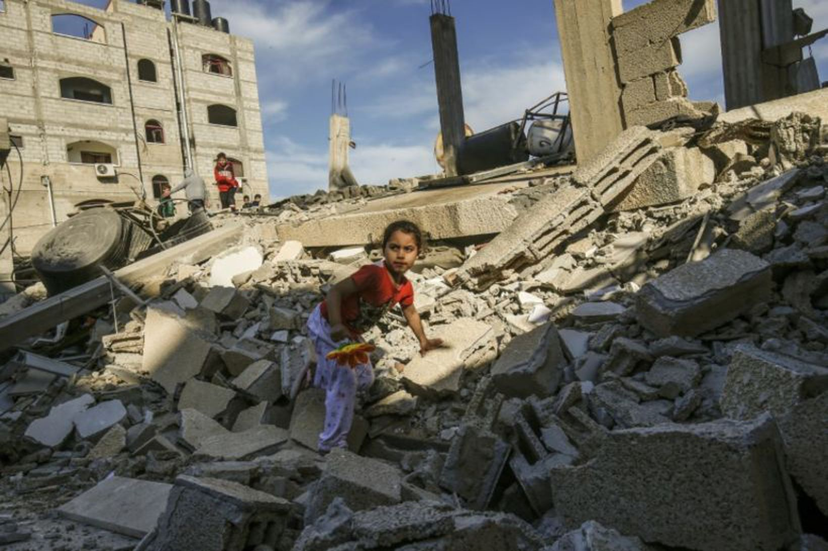 Átök fara harðnandi á Gaza-ströndinni.