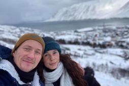 Jörundur Ragnarsson og Magdalenda Björnsdóttir eru nýtt par.