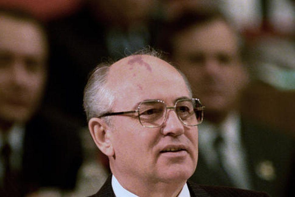 Mikhail Gorbachev, fyrrverandi leiðtogi Sovétríkjanna.