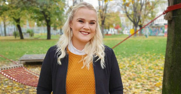 Marta Kristín Friðriksdóttir býr í Vín.