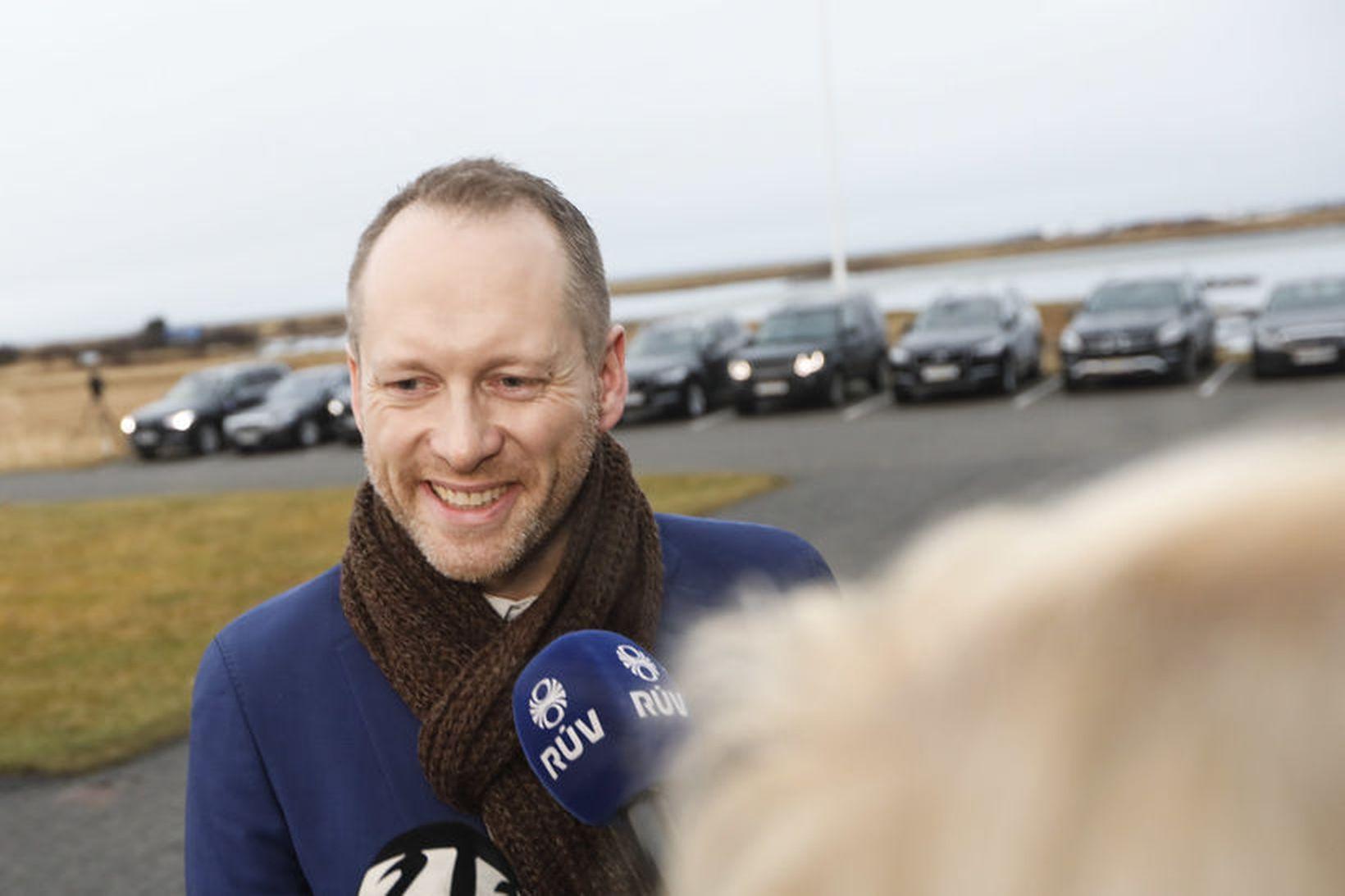 Guðmundur Ingi Guðbrandsson, nýr umhverfisráðherra.