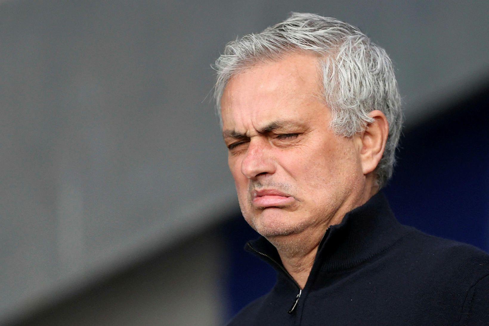 José Mourinho, knattspyrnustjóri Tottenham Hotspur.