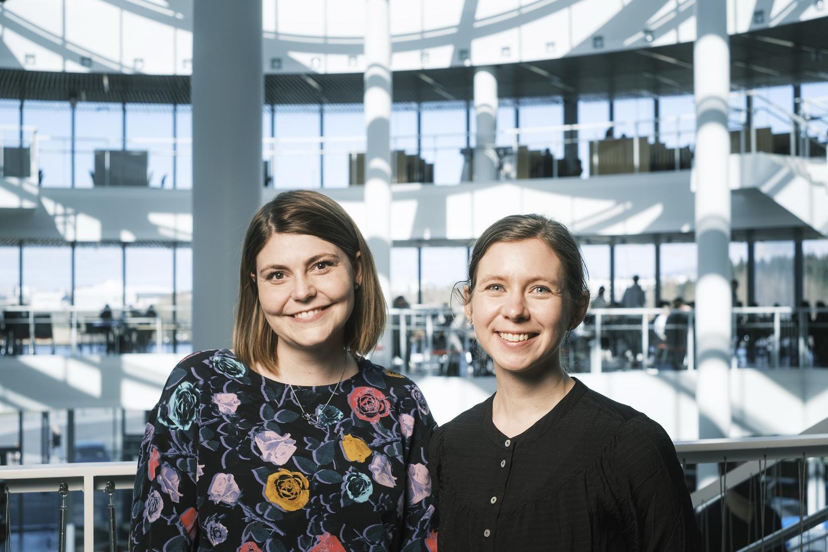 Anna Sigríður Islind og María Óskarsdóttir.
