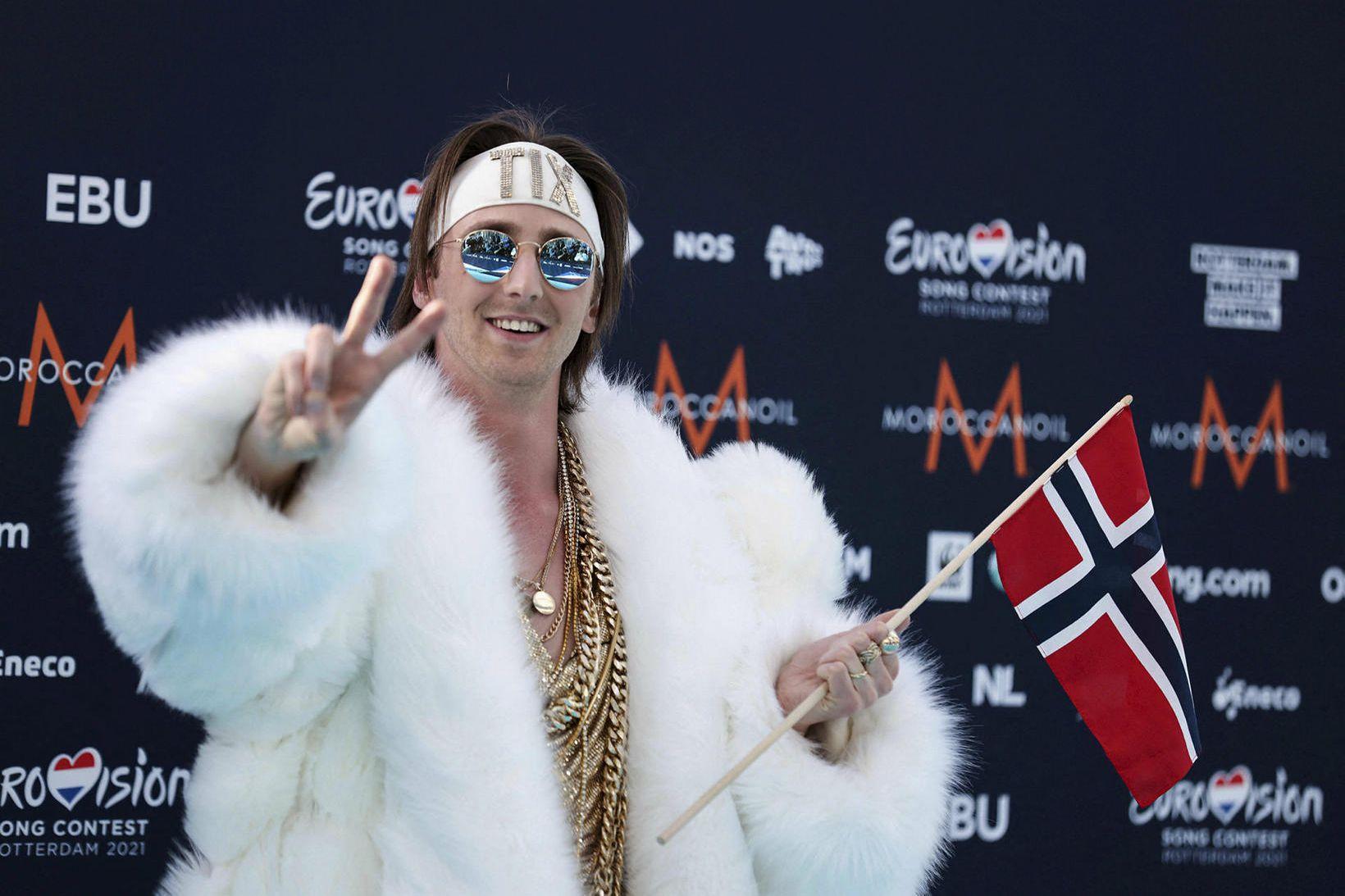 Andreas Andresen Haukeland eða Tix frá Noregi er skrautlegur.