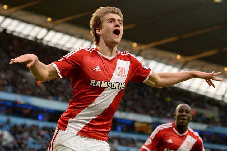 Patrick Bamford er kominn til Middlesbrough frá Chelsea en hann hefur áður verið í láni ...