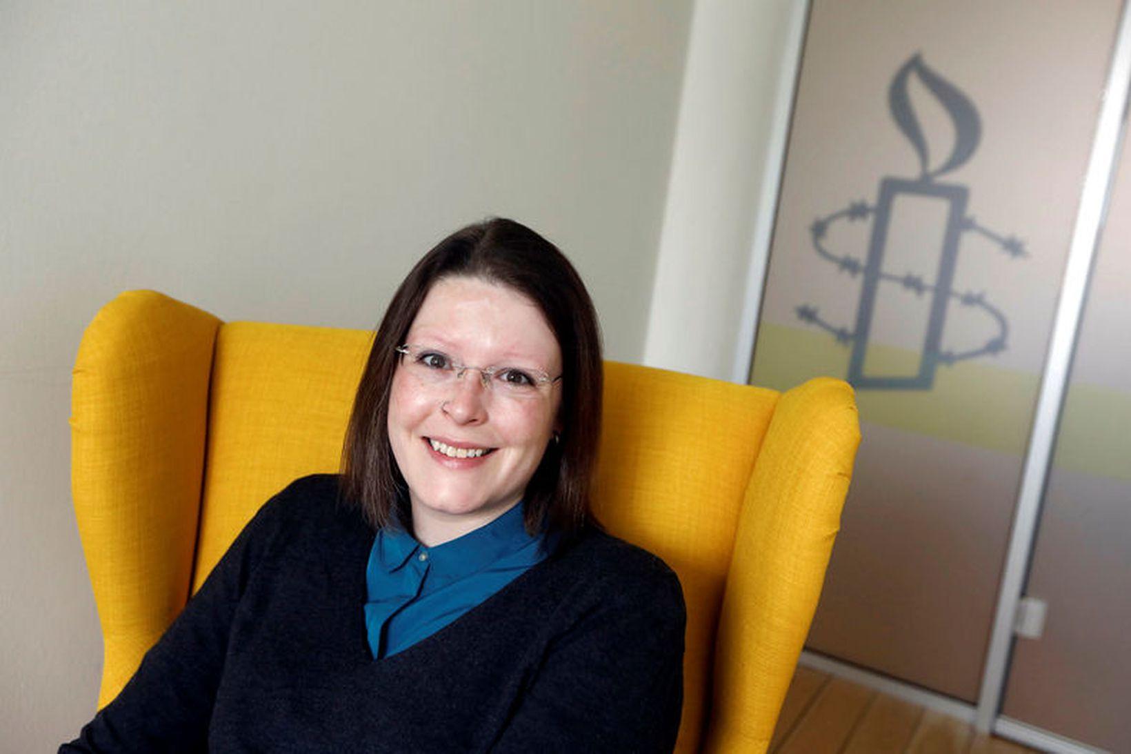 Kitty Anderson, formaður Intersex Íslands.