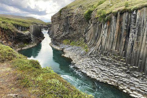 Stuðlagil. Archive photo.