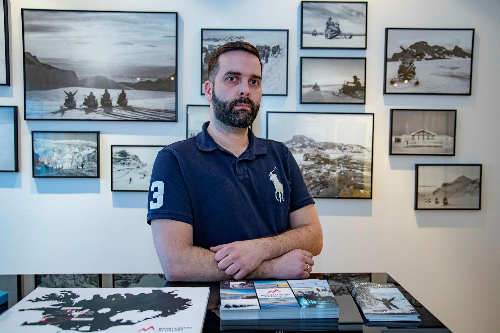 Haukur Herbertsson er rekstrarstjóri Mountaineers of Iceland.