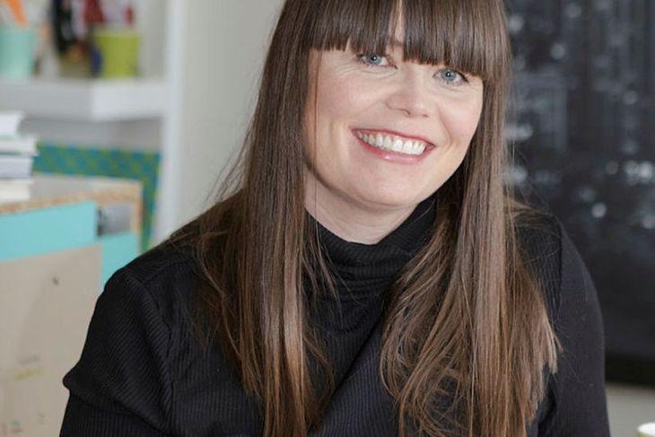 Kristborg Bóel Steindórsdóttir hefur flutt 10 sinnum á 12 árum.