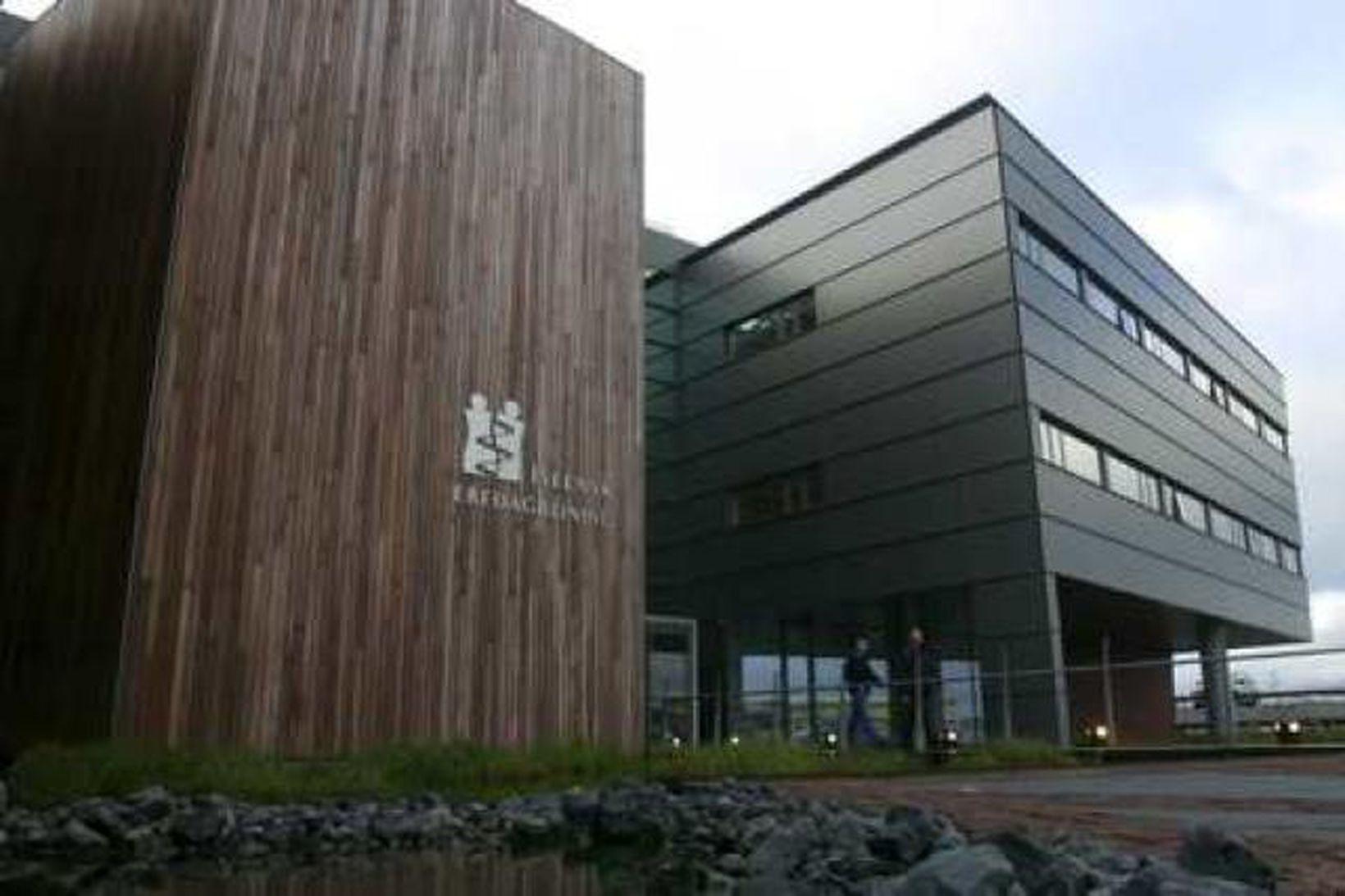 Höfuðstöðvar Íslenskrar erfðagreiningar í Reykjavík.