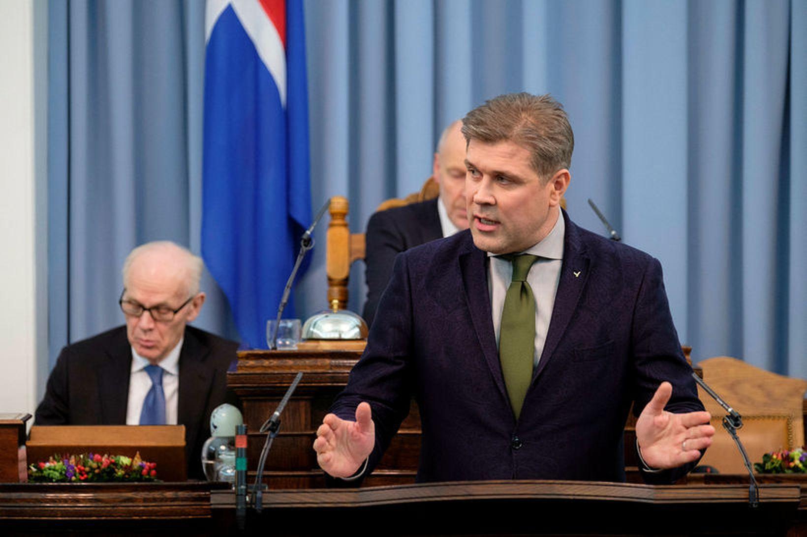 Bjarni Benediktsson, fjármála- og efnahagsráðherra.