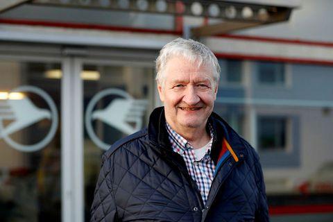 Hörður Guðmundsson, forstjóri flugfélagsins Ernis.