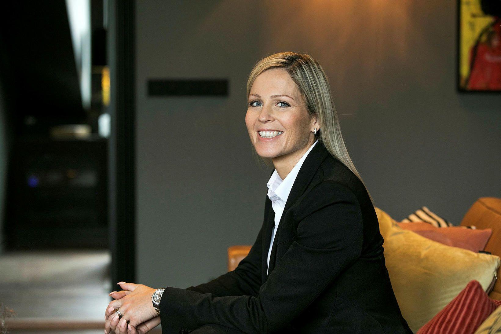 Svanhildur Nanna Vigfúsdóttir fjárfestir.