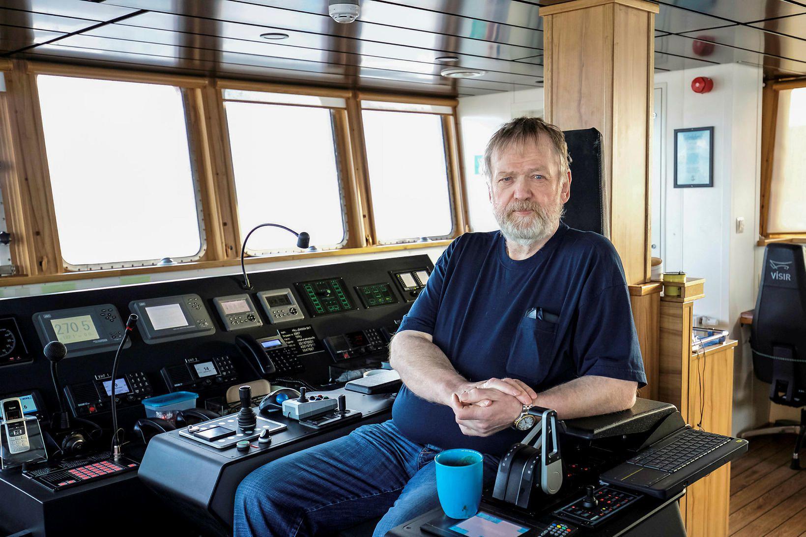 Gísli Jónsson, skipstjóri á Páli Jónssyni, segir aðbúnað í bátnum …