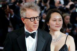 Woody Allen og Soon Yi Previn árið 2005.