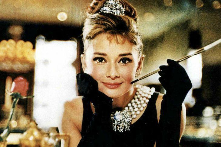 Audrey Hepburn er stórglæsileg í kvikmyndinni Breakfast at Tiffany´s.