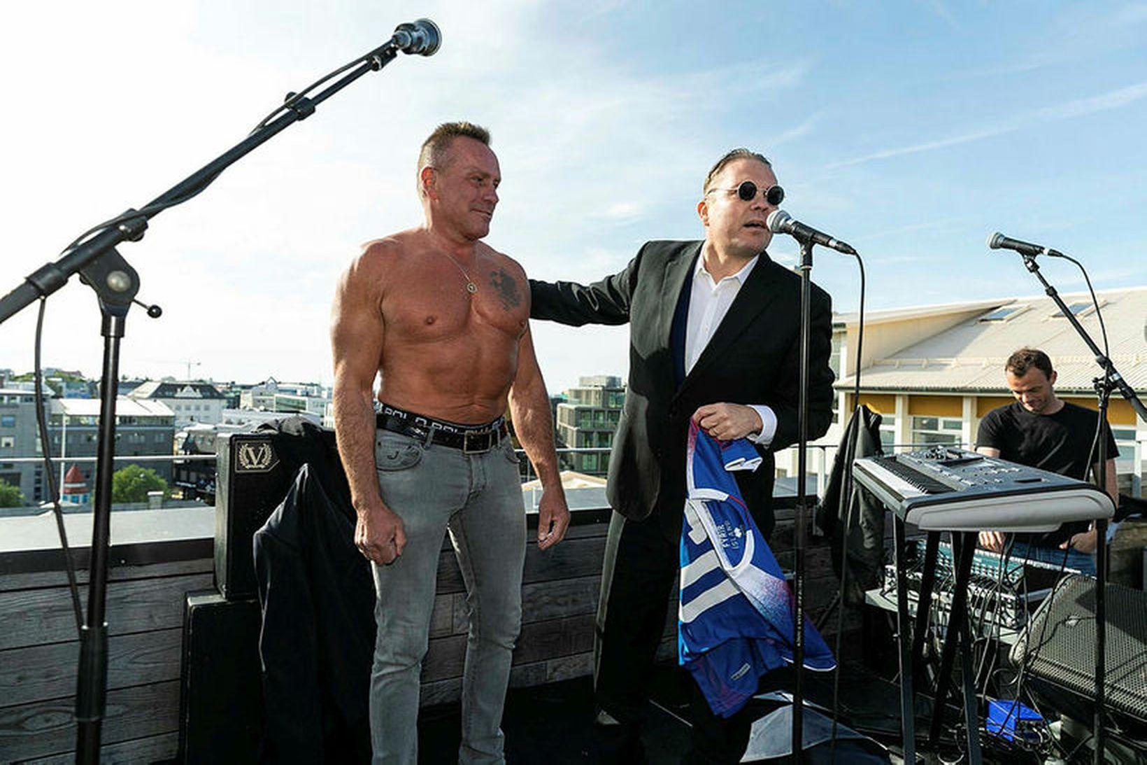Björn Leifsson varð 60 ára á mánudaginn en fagnaði afmælinu …