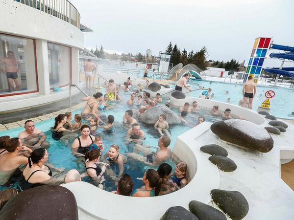 Laugardalslaug swimming pool is closed today.