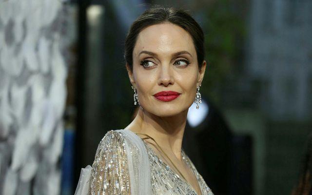 Angelina Jolie heimsótti fyrrverandi eiginmann sinn í New York.