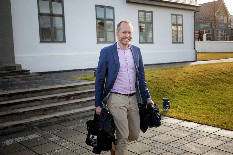 Guðmundur Ingi Guðbrandsson, Iceland's Minister for the Environment.