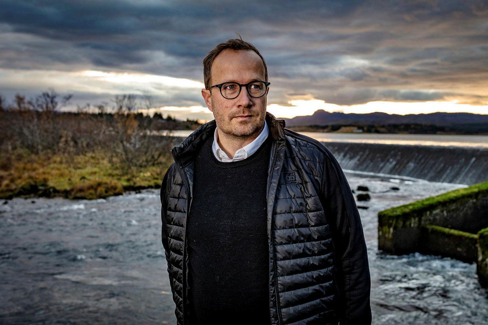 Andri Snær Magnason.
