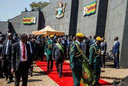 Stjórnarandstaðan í Simbabve, MDC-flokkurinn, hefur sakað framboð Mnangagwa um kosningasvik og hefur innsetningu hans í …