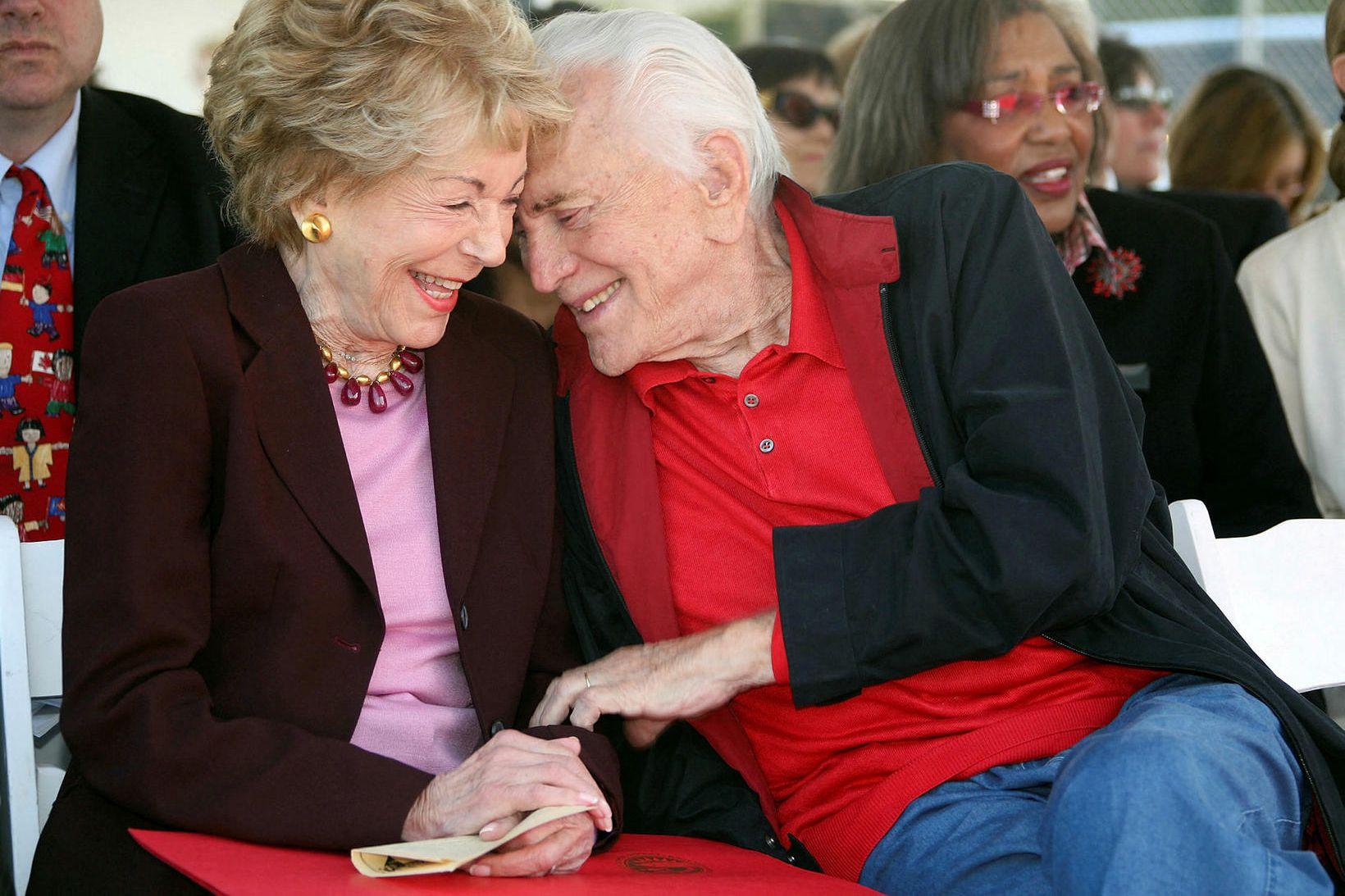 Anne og Kirk Douglas.