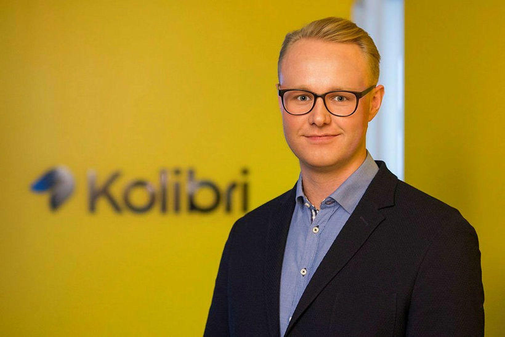 Ólafur Örn Nielsen framkvæmdastjóri Kolibri er að láta af störfum …