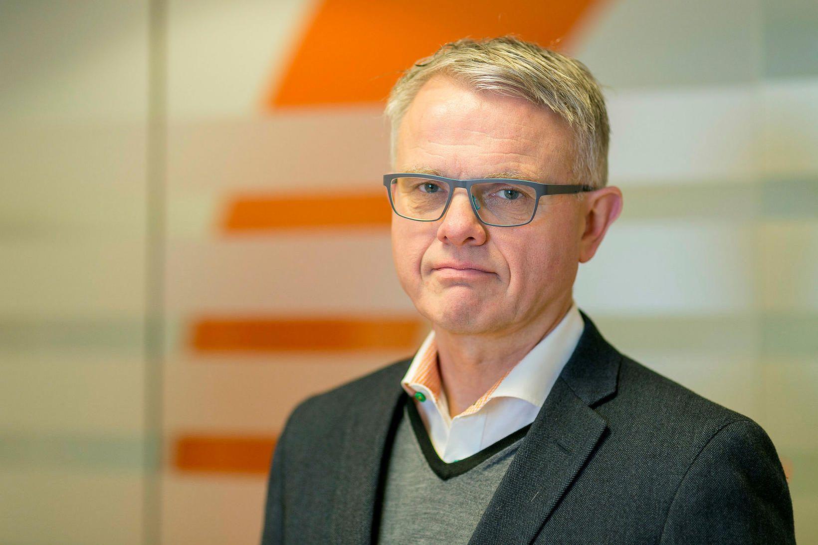 Andrés Magnússon, framkvæmdastjóri Samtaka verslunar- og þjónustu.