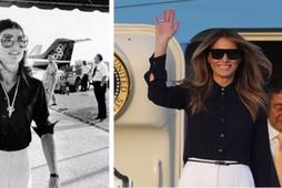 Melania Trump hefur tekið sér Jackie Kennedy til fyrirmyndar.
