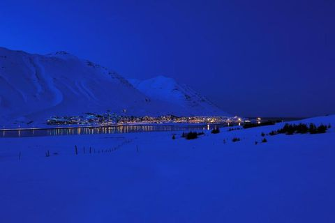 The northern town of Siglufjörður is the setting for Jónasson's atmospheric novels.
