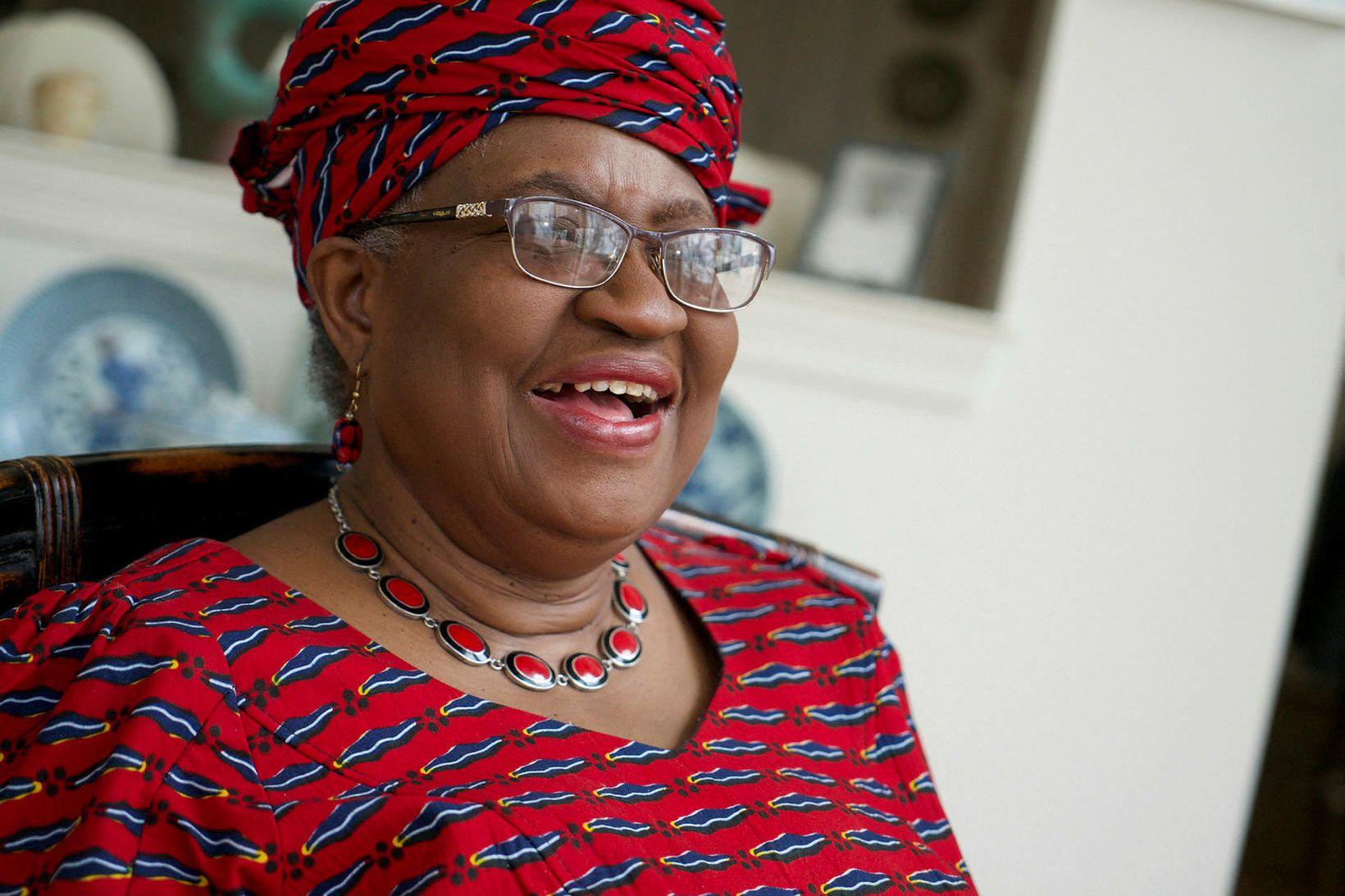 Ngozi Okonjo-Iweala er nýr forstjóri WTO.