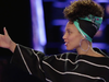 Alicia Keys wearing a Saga Kakala scarf.