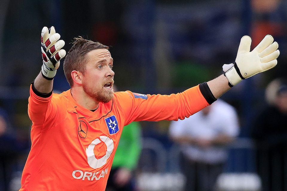 Gunnar Nielsen landsliðsmarkvörður Færeyja er kominn til FH frá Stjörnunni.