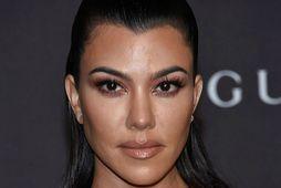Kourtney Kardashian ferðast mikið með krakkana.