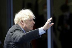 Boris Johnson forsætisráðherra Bretlands.