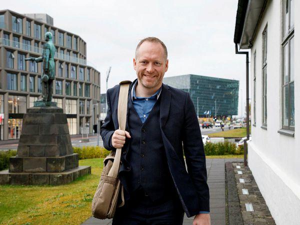 Minister for the Environment and Natural Resources Guðmundur Ingi Guðbrandsson.