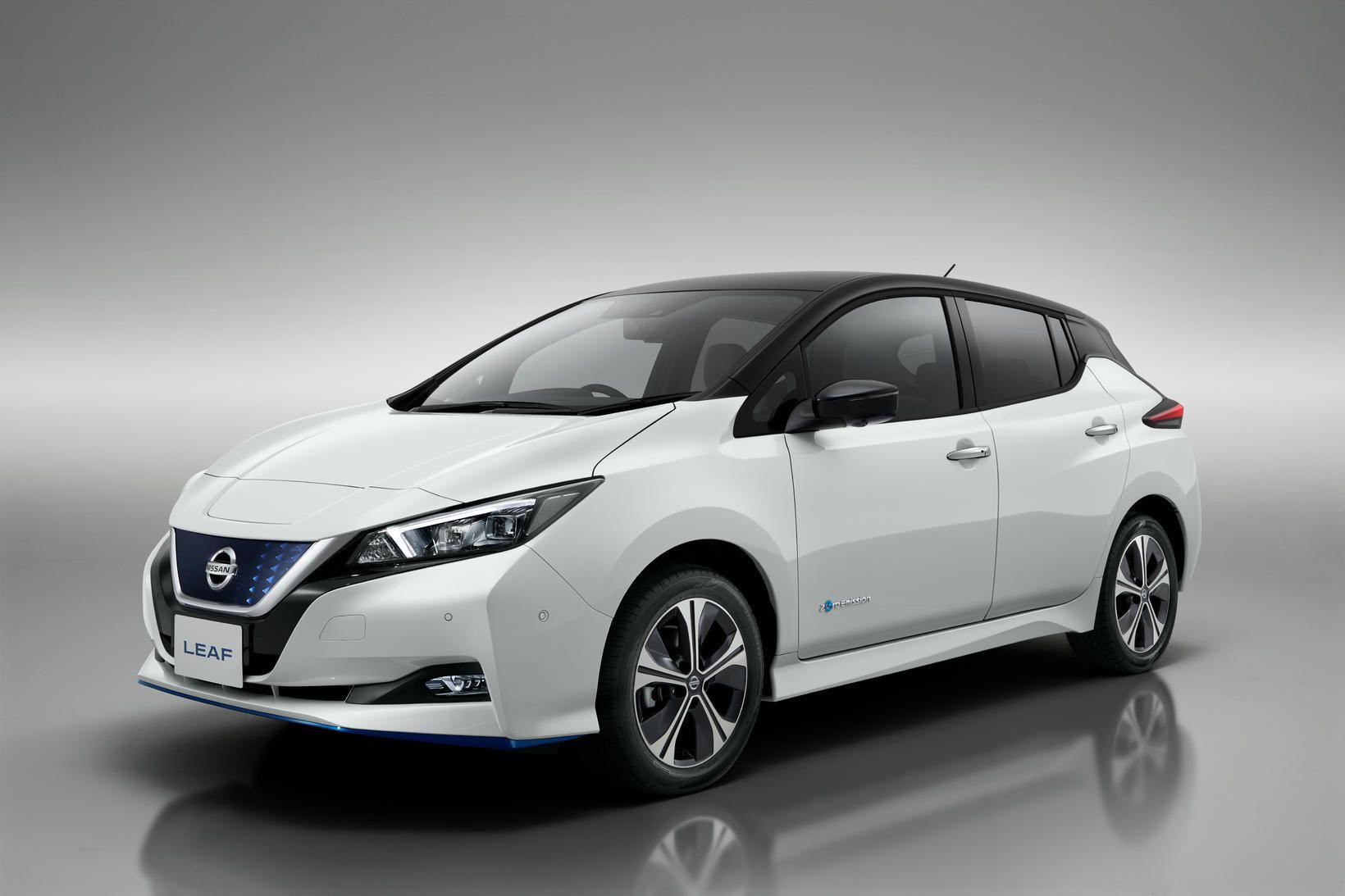 Rafbíllinn Nissan Leaf