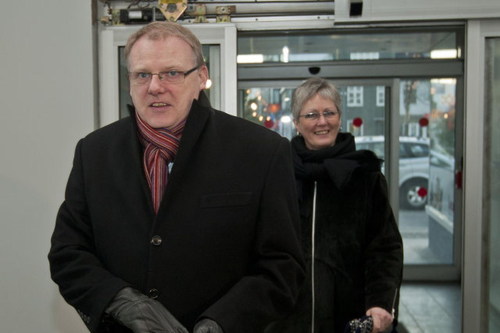 Árni Þór Sigurðsson, þingmaður Vinstrihreyfingarinnar - græns framboðs.