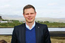 Vilhjálmur Árnason þingmaður Sjálfstæðisflokksins.