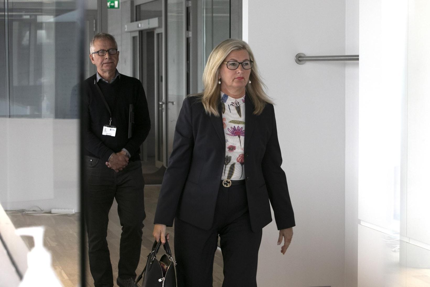 Alma Möller landlæknir og Þórólfur Guðnason sóttvarnalæknir.