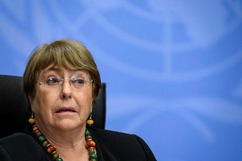 Michelle Bachelet, yfirmaður mannréttindamála hjá SÞ.