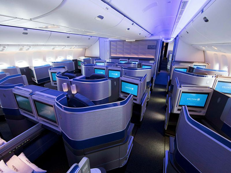 The UA flights will offer these incredible seats.