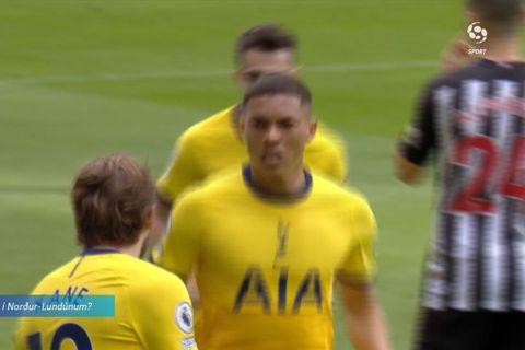 Myndi yfirgefa Tottenham ef hann væri Kane (myndskeið)