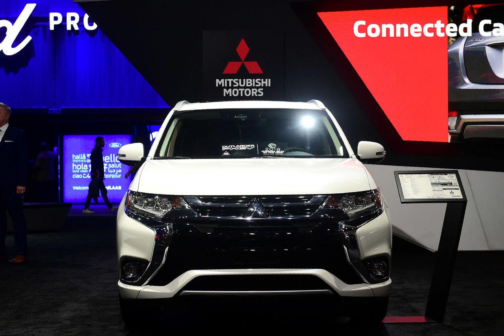 Tvinnbíllinn Mitsubishi Outlander (PHEV).