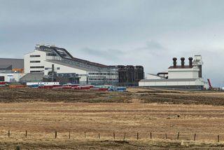 Starfsemi hófst í kísilveri PCC á Bakka við Húsavík í vor.