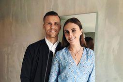 Arnór Ingvi Traustason og Andrea Röfn Jónasdóttir eru gift.